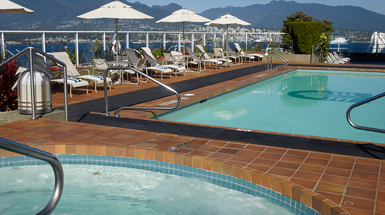 pan pacific vancouver pool deck
