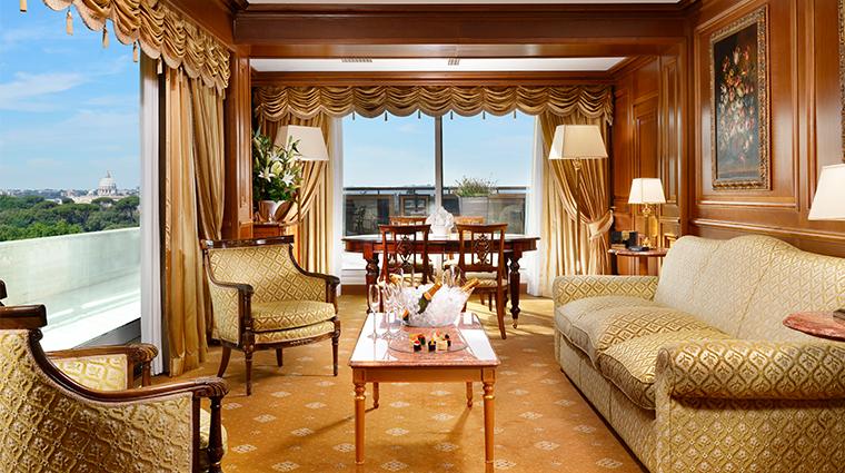 parco dei principi grand hotel spa presidential suite living room