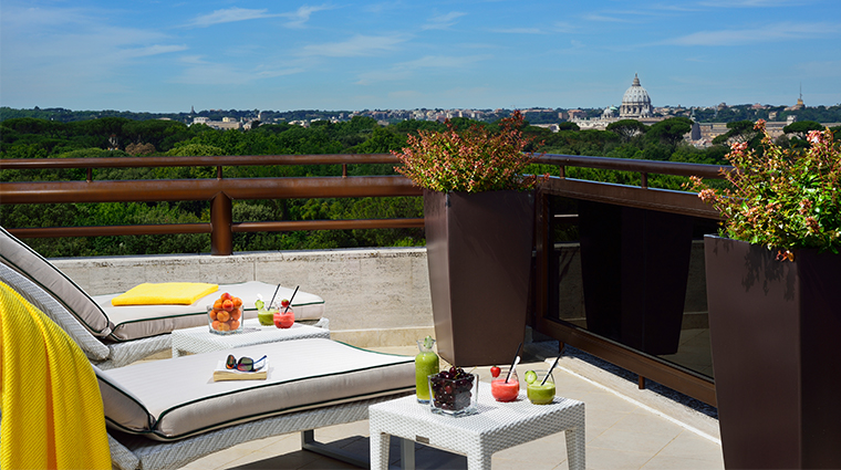 parco dei principi grand hotel spa presidential suite terrace