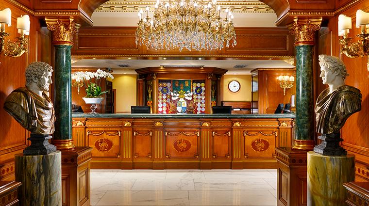 parco dei principi grand hotel spa reception