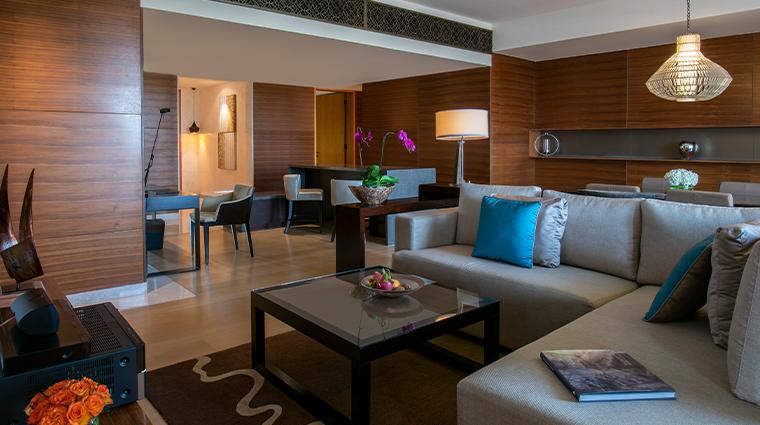 park hyatt abu dhabi hotel and villas Executive Villa Living Room