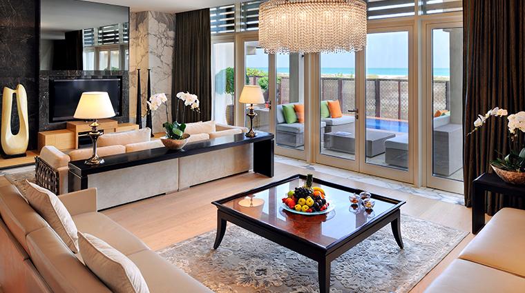 park hyatt abu dhabi hotel and villas Royal Villa Living Room