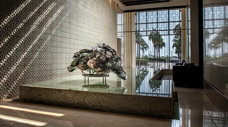 park hyatt abu dhabi hotel and villas lobby desert rose