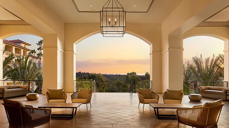 park hyatt aviara resort lobby terrace