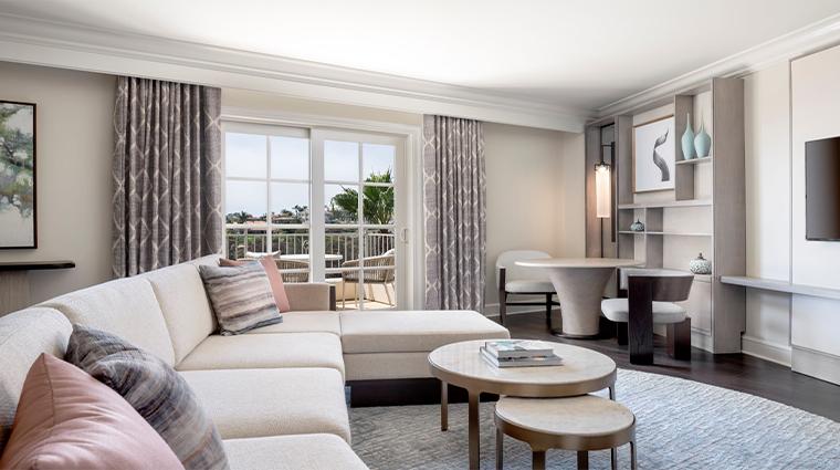 park hyatt aviara resort suite living room