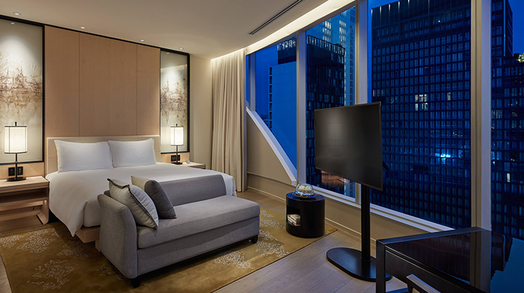 park hyatt bangkok bedroom view night