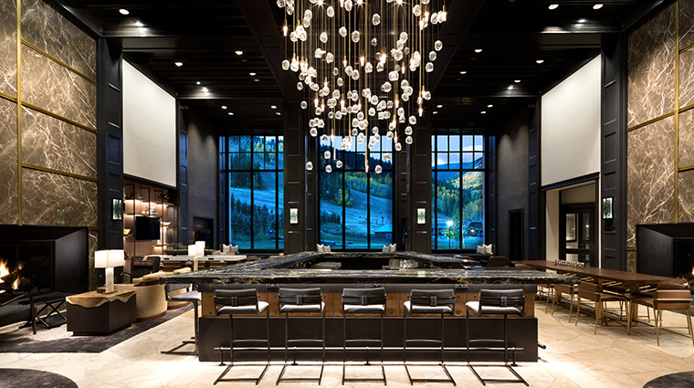 Park Hyatt Beaver Creek Lobby and Bar