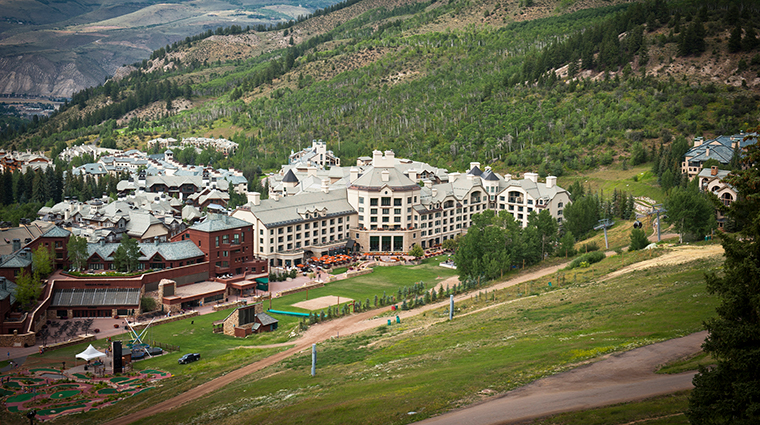 park hyatt beaver creek resort and spa exterior summer
