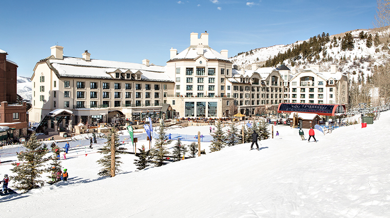 park hyatt beaver creek resort and spa exterior winter