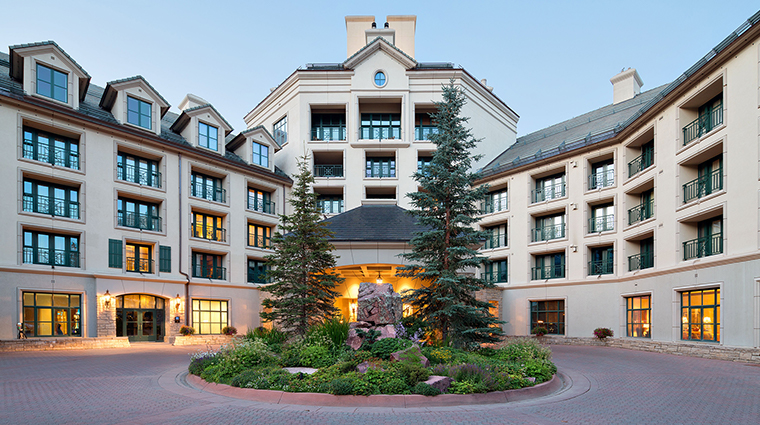 park hyatt beaver creek resort and spa front drive