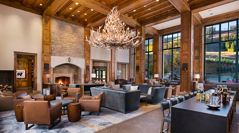 park hyatt beaver creek resort and spa lobby