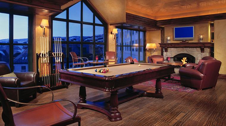park hyatt beaver creek resort and spa whiskey elk billards