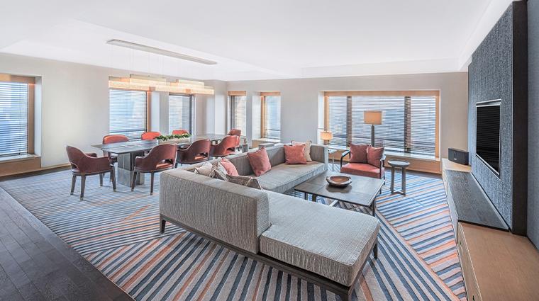 park hyatt beijing executive suite living room