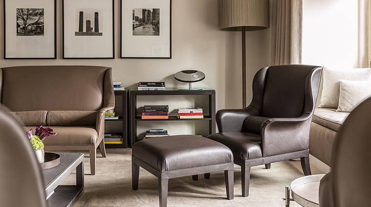park hyatt chicago Bottega chair