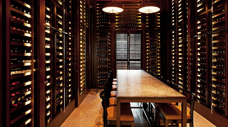 park hyatt chicago Nomi Wine Room