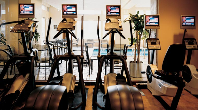 park hyatt chicago fitness room