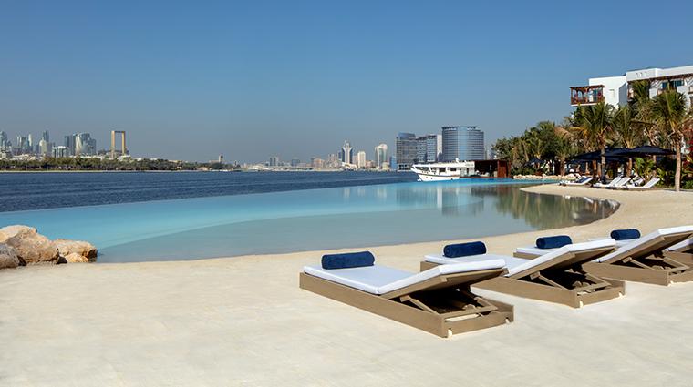 park hyatt dubai lagoon and hotel view