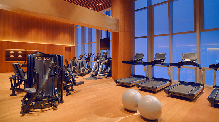 park hyatt guangzhou fitness center
