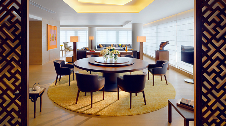 park hyatt guangzhou suite dining