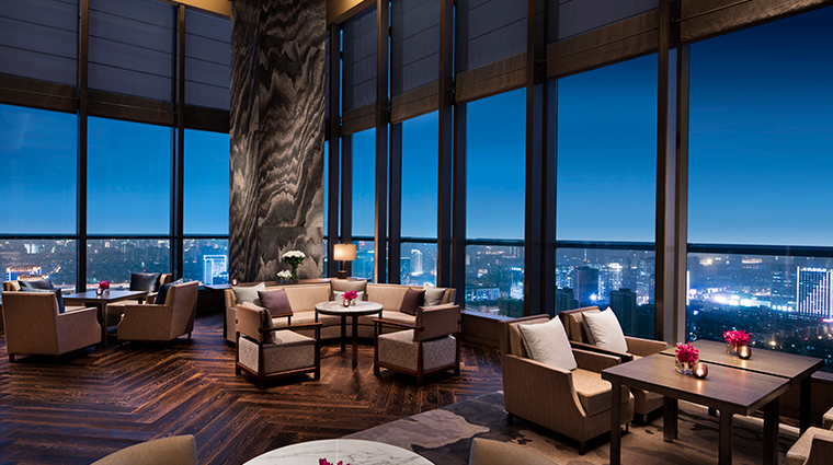 park hyatt hangzhou Living Room night