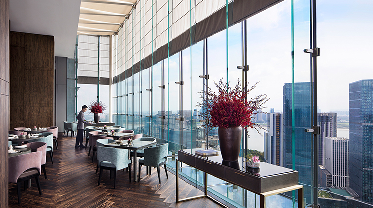 park hyatt hangzhou dining room view