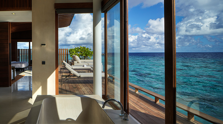 park hyatt maldives hadahaa park water villa bathroom