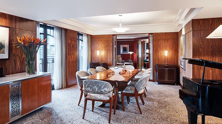 park hyatt melbourne presidential living room dining