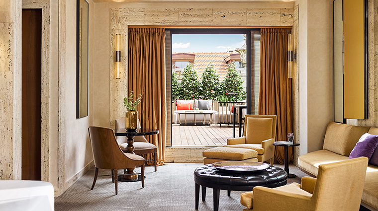 Park Hyatt Milan terrace suite