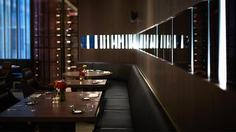 park hyatt new york dining tables