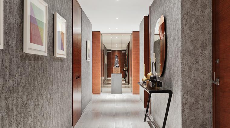 park hyatt new york presidential suite hallway