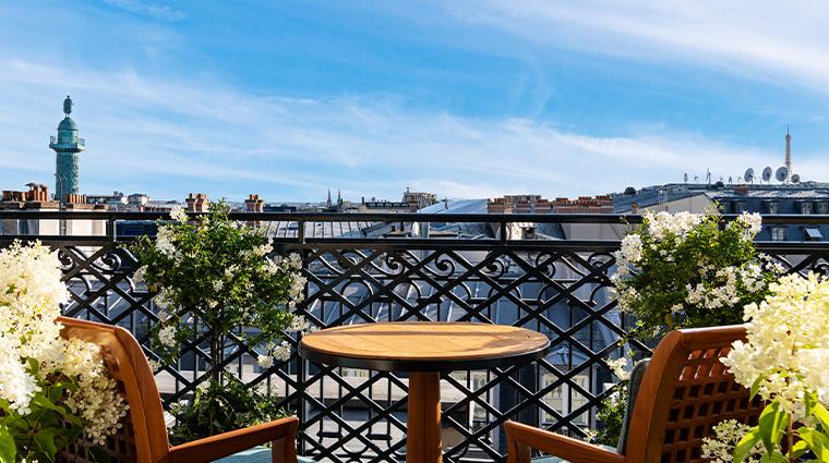 park hyatt paris vendome presidential suite view
