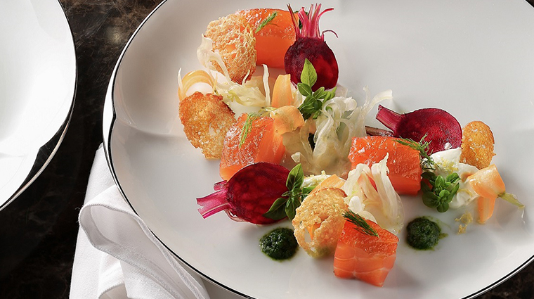 park hyatt saigon house cured salmon