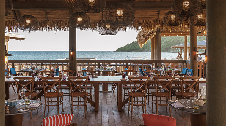 park hyatt saint kitts christophe harbour dining