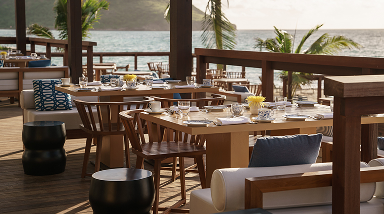 park hyatt saint kitts christophe harbour restaurant