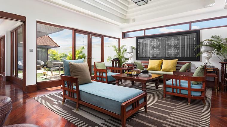 park hyatt siem reap living room area