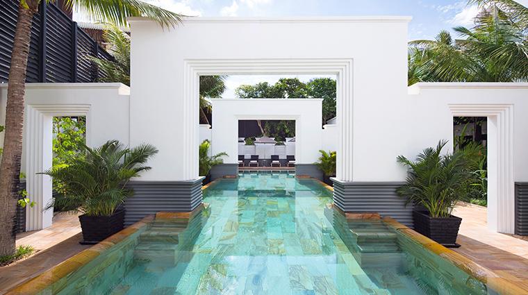 park hyatt siem reap saltwater lap pool