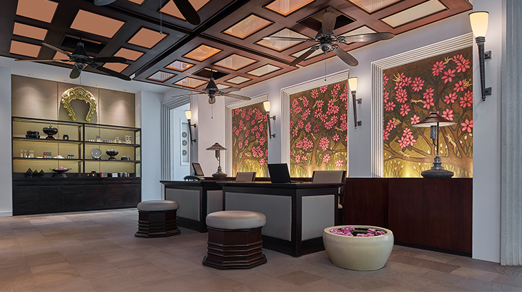 park hyatt siem reap spa reception