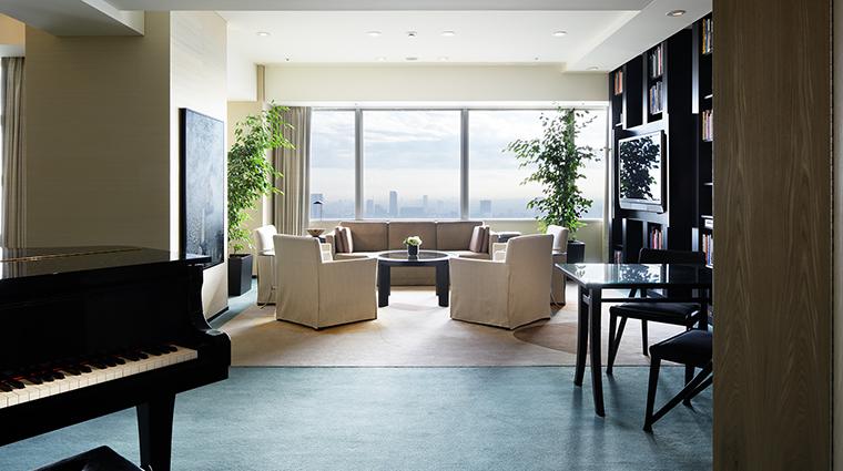 Park Hyatt Tokyo living room