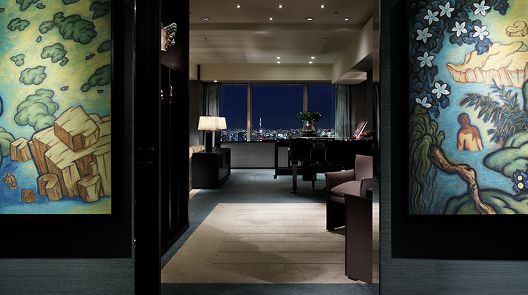 Park Hyatt Tokyo suite entrance