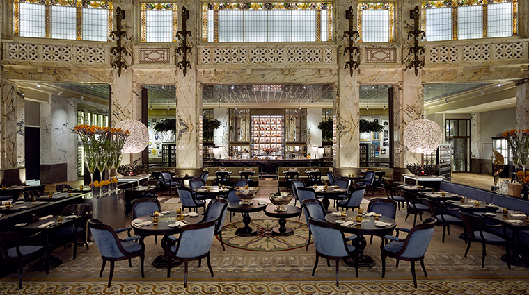 park hyatt vienna The Bank dining area