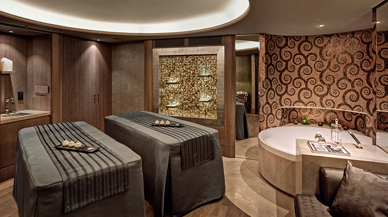 park hyatt vienna spa treatment room