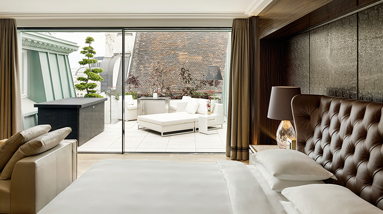 park hyatt vienna suite with terrace