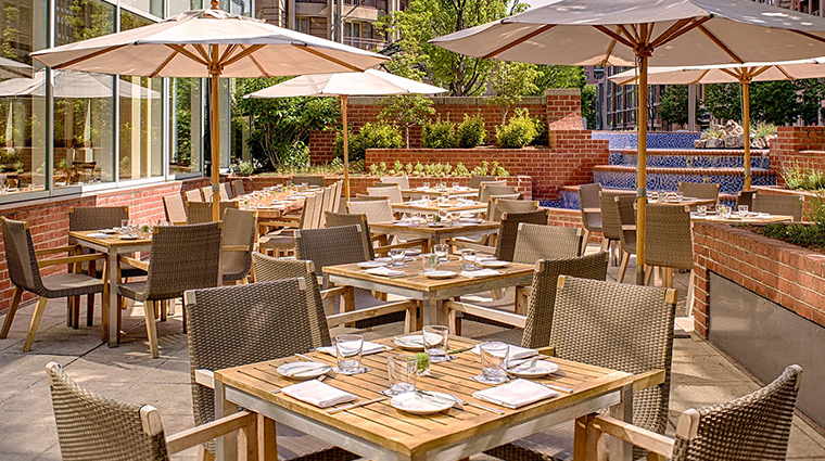 park hyatt washington dc blue duck tavern terrace