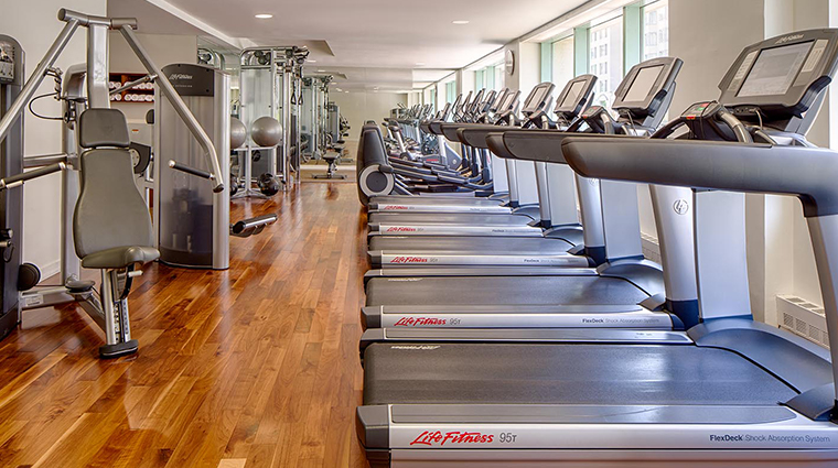 park hyatt washington dc fitness center