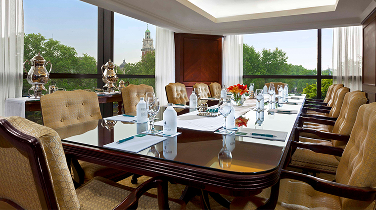 park tower a luxury collection hotel ceibo boardroom