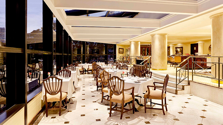 park tower a luxury collection hotel dining