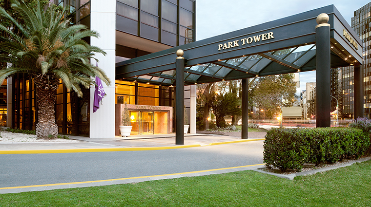 park tower a luxury collection hotel entrance