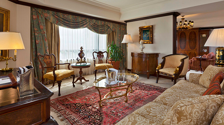park tower a luxury collection hotel governor suite living room