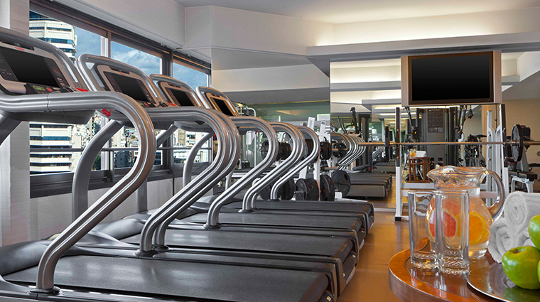 park tower a luxury collection hotel gym