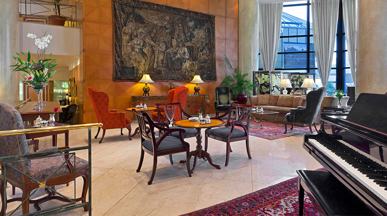 park tower a luxury collection hotel lobby lounge2